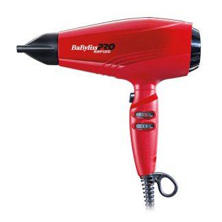 BaByliss-Pro-BAB7000IRE-Red-Rapido-Haatrockner